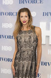 HBO Arrival at New York Premiere. Actress Alysia Reiner arrives for the New York City premiere of HBO's TV family drama, Divorce.  The event was held at the SVA Royalty Free Stock Photography