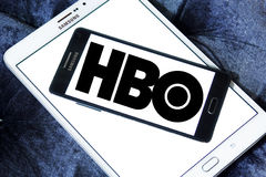 Hbo broadcasting company logo Stock Photography