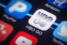 HBO GÅR Royaltyfri Foto