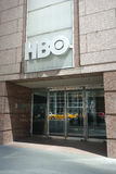 HBO Headquarters. The headquarters of Home Box Office (HBO), an American premium cable and satellite television network, in New York City Royalty Free Stock Images