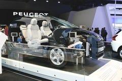 Híbrido 4 de Peugeot 3008 Foto de Stock Royalty Free