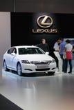 Híbrido de Lexus GS450h Fotos de archivo libres de regalías
