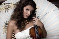 Hübscher Musiker Lizenzfreies Stockbild