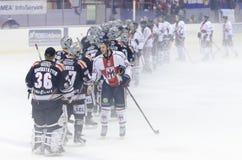 Hc Mailand gegen HC Renon Lizenzfreie Stockfotografie