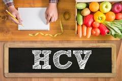 HCV images stock