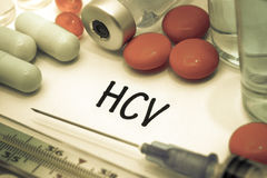 HCV Royalty Free Stock Photo