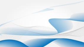 HD μπλε κύματα Στοκ εικόνες με δικαίωμα ελεύθερης χρήσης
