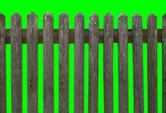 HD οριζόντιος άνευ ραφής ξεπερασμένος ξύλινος φράκτης Στοκ Εικόνες