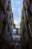 HD ο θαυμάσιος ουρανός φύσης αρχιτεκτονικής αφισών φωτογραφιών τοπίων αφθόνησε μην χτίζοντας καμία μπλε προοπτική της Ρωσίας τοίχ Στοκ Εικόνες