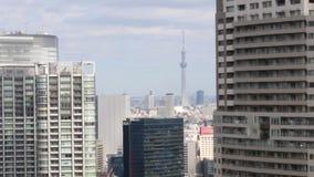 HD -东京鸟瞰图  股票录像