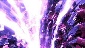 Abstract background with animation of flight in sci-fi tunnel. Looped animation. HD Abstract background with animation of flight in sci-fi tunnel. Looped stock footage