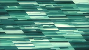HD Abstract blue rectangles background 2D animztion. MOV.  stock illustration