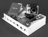 HD Action Camera Royalty Free Stock Photography