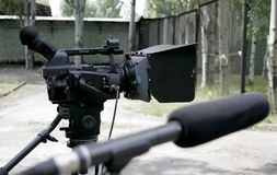 Hd camcorder Stock Image