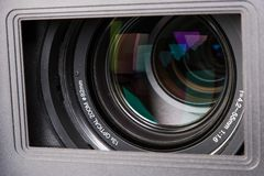 Hd camera lens Stock Photography