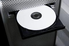 Hd cd del dvd in bianco bluray Immagini Stock