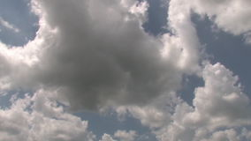 Hd clouds time lapse stock video