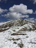 Hd de la foto de la nieve imagen de archivo