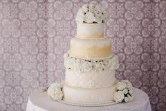 Hd del pastel de bodas Foto de archivo