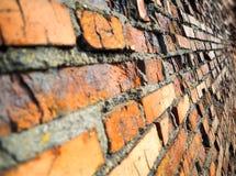 Hd diagonal de fond de texture de mur de briques photos stock