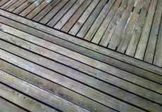 Hd en bois diagonal de fond de texture de quai images libres de droits