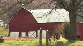 Hd farms countryside autumn farm stock footage