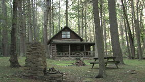 Hd farms countryside log cabin. Video of hd farms countryside log cabin stock video