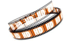 HD Film Royalty Free Stock Images