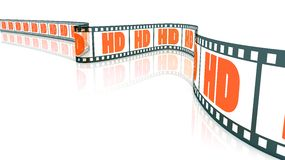 HD Film stock illustration