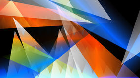 HD Glass Colors Mountain. Background Stock Photo