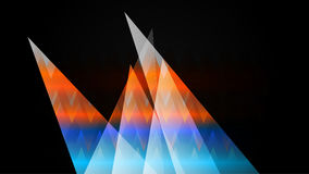HD Glass Mountain. HD Colorful Glass Mountain Background Stock Photography