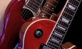 Electric Guitars Royalty Free Stock Photos