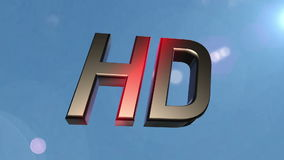HD icon back clouds stock video footage