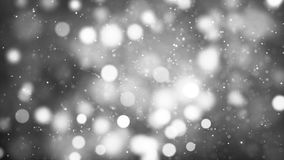 HD Loopable Background with nice black and white bokeh