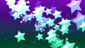 HD Loopable Background with nice flying stars. HD Loopable Abstract Background with nice flying stars for club visuals, LED installations, broadcasting featuring vector illustration