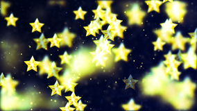 HD Loopable Background with nice flying stars stock video footage