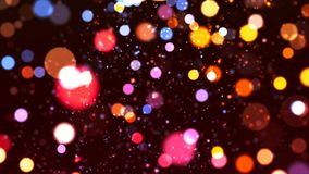 HD Loopable Background with nice sparkle bokeh