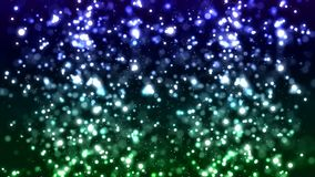 HD Loopable Background with nice sparkle green bokeh stock footage