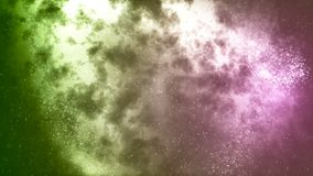 HD Loopable tło z ładną abstrakt gwiazdy mgławicą royalty ilustracja