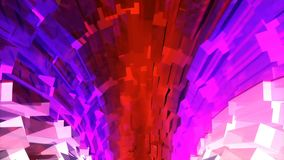 Looped seamless light vj tunnel for event, concert, presentation, music videos, party, vj, led screens and more.
