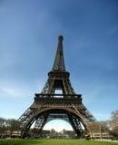 HD mening van de toren van Eiffel - Frankrijk Royalty-vrije Stock Foto's