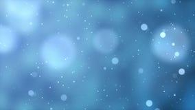 Motion graphic of Christmas bokeh lights stock footage