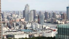 HD - Opinión aérea del encabritado del tsukiji Tokio almacen de metraje de vídeo