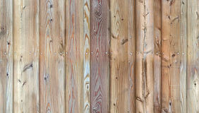 HD seamless pattern, wall of aged planks nailed together Royalty Free Stock Photography