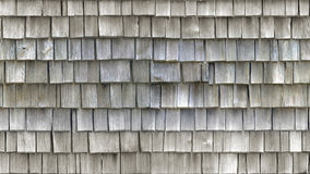HD seamless texture, wooden tiled roof Royalty Free Stock Photos