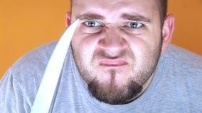 Hd - slaktare Knife Man lager videofilmer