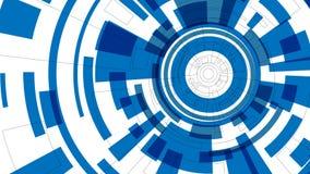 HD-teknikwallpaper Royaltyfri Illustrationer