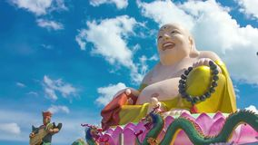 HD Time Lapse Colorful Buddha image pan Stock Photography