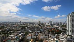 HD-Time-schackningsperiod: Bangkok stad arkivfilmer