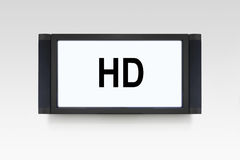 HD TV Immagine Stock